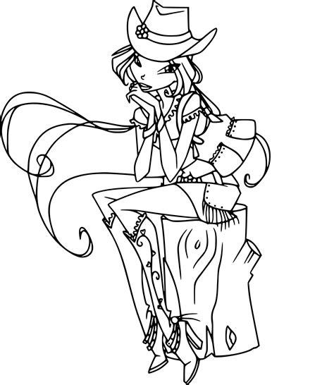 Coloriage Winx Cowgirl 224 Imprimer Sur Coloriages Info Coloriage Dessin Anime Disney L
