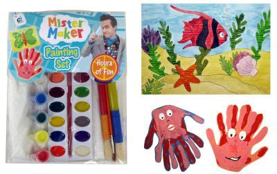 mister maker crafts for mister maker painting kit sold by castlehill crafts