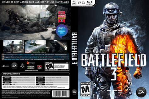 Battlefield 3 Pc battlefield 3 pc cover by thegh0sts on deviantart