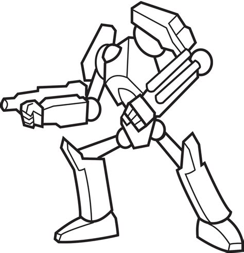 Robot Coloring Page Az Coloring Pages Robot Coloring Pages Free