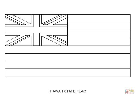 Image Gallery Hawaii Flag Coloring Page Hawaii Flag Coloring Page