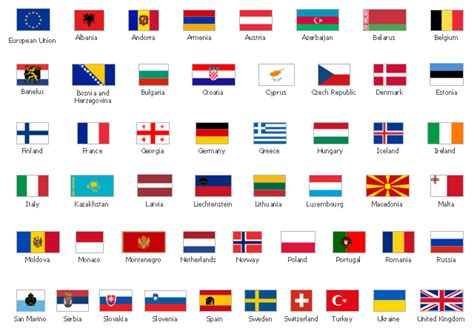 flags of the world european union europe clipart europe flag pencil and in color europe