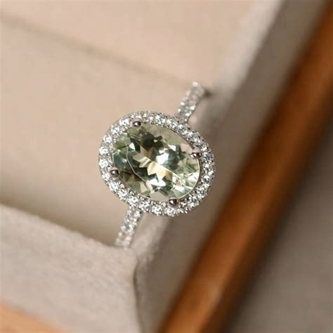 green amethyst engagement ring meaning engagement ring usa