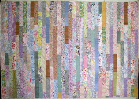 Stripe Quilt by Exuberant Color Quilts With Kaffe Fassett Fabric