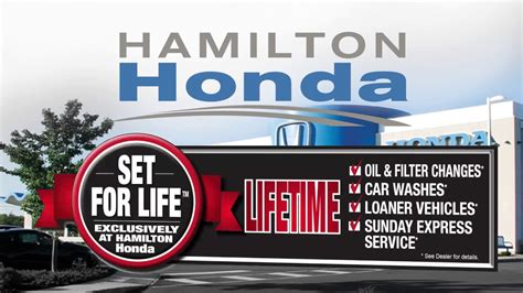 Hamilton Honda by Hamilton Honda S Set For Program