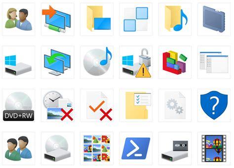 imagenes de iconos de windows 10 descarga los iconos de windows 10