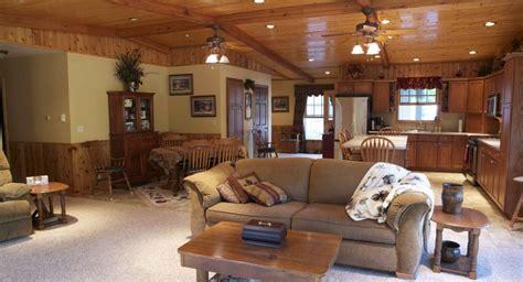 morton buildings custom home interior in deer river
