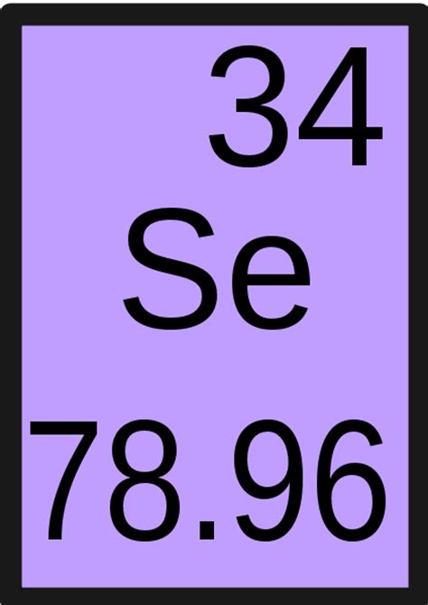 Selenium Periodic Table by File Selenium Svg Wikimedia Commons