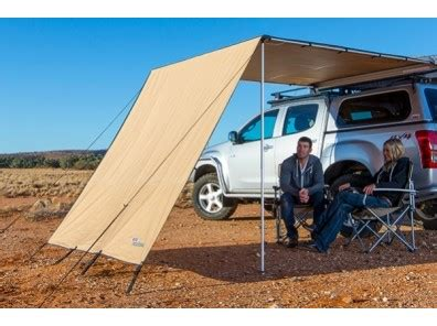 arb awning 1250 arb awning front wind break for 1250