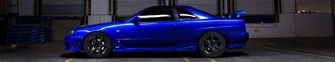 car 3 screen wallpaper car screen skyline r34 nissan skyline gt r blue
