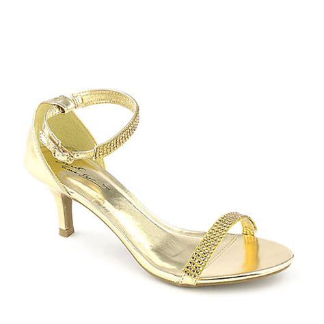 low heel gold shoes fs heel