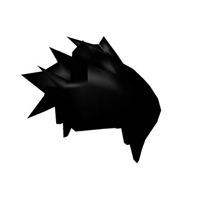 boy hair (black) (original) roblox