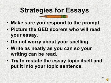 The Ged Essay Writing Skills To Pass The Test by Essay Help For Ged