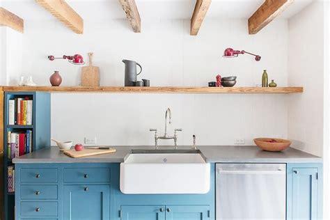 Large Kitchen Cabinet by The Next Big Kitchen Cabinet Color Trends Mydomaine Au