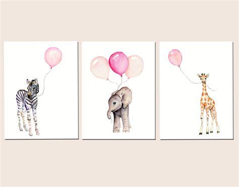 printable baby girl wall art girls nursery decor baby print set 11 x 14 nursery set