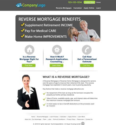 Website Rev Template Mortgage Website Templates