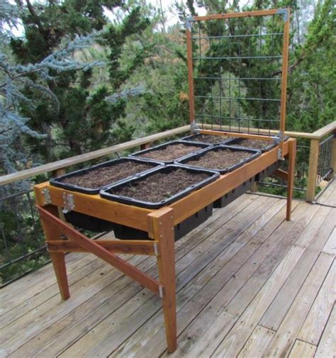 Building A Raised Planter Box by Diy Raised Planter Boxes Raised Garden Planter Plans