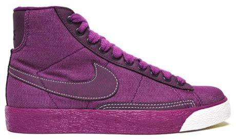Kewec Ngiket Spokat by S Nike Blazer Black Corduroy And Purple Denim