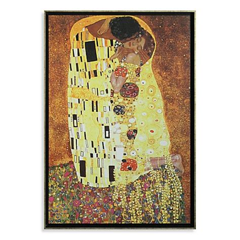 Buy the kiss by gustav klimt wall art from bed bath amp beyond