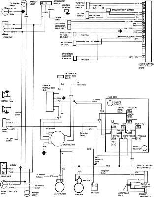 85 Toyota Pickup Wiring Diagram For | schematic and wiring