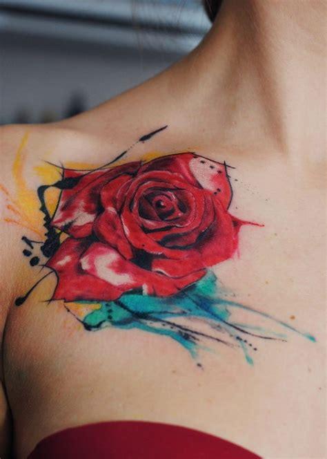 tatuajes pinterest rosas tatuaje acuarela buscar con google art on skin