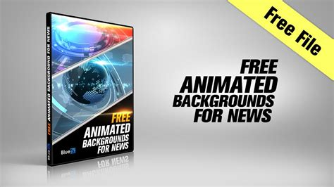 Free After Effects Template 3 Animated Backgrounds For News Youtube After Effects Animation Templates