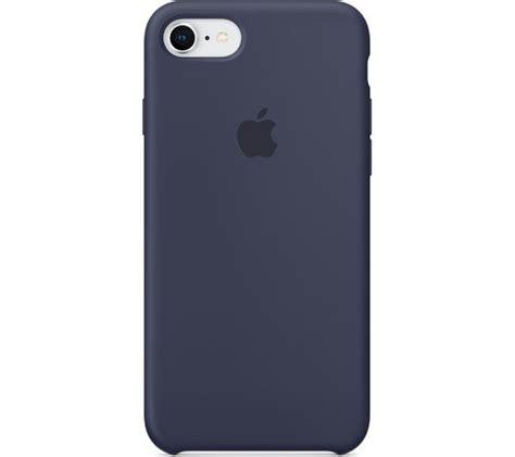 apple mqgmzma iphone   silicone case midnight blue