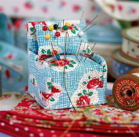 armchair pincushion 25 best ideas about cath kidston fabric on pinterest