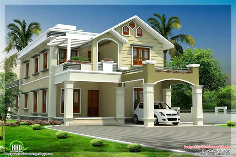 2 floor house october 2012 kerala home design and floor plans
