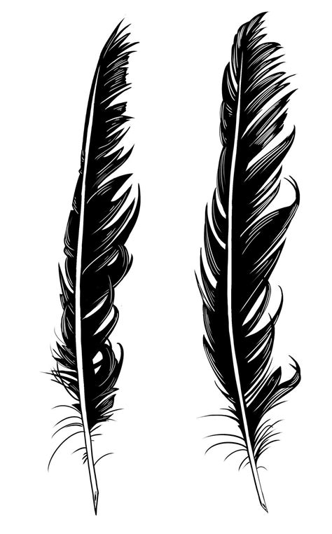 raven feather tattoo feather designs by dirtyinks deviantart on