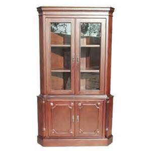 Eliot Corner Curio Cabinet D Collection Corner Cabinet Walmart