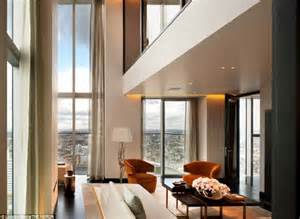 the luxury penthouses perched on the 36th floor of london inside london s the heron luxury penthouses with amazing