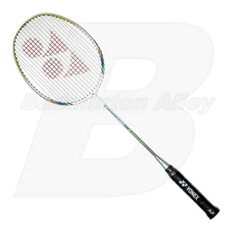 Raket Nanospeed yonex nano speed 100 white blue 2012 ns100 badminton racket