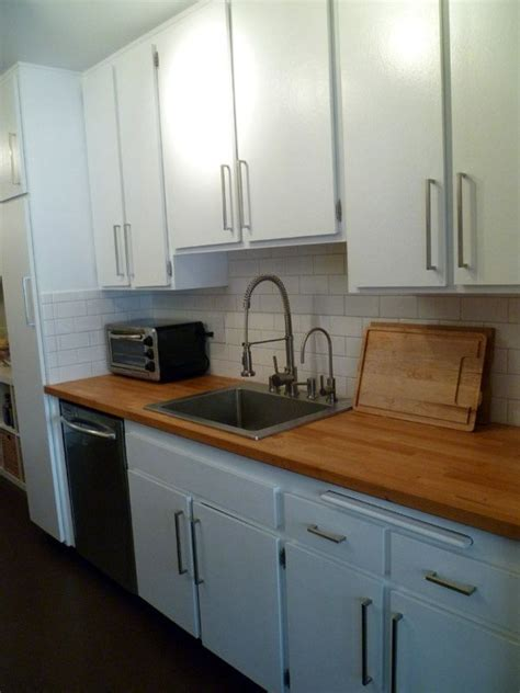 white cabinets with butcher block 37 best images about kitchen 32 converse ct on