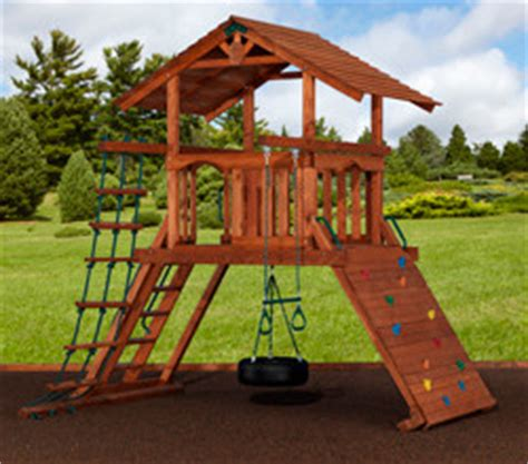 play structures for any yard size traditional san
