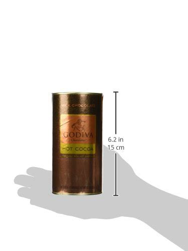 harrods chocolatier dark hot chocolate godiva chocolatier milk chocolate hot cocoa canister 13