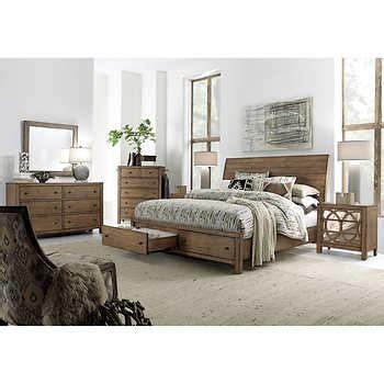 Sam S Cal King Bedroom Set by 6 Cal King Storage Bedroom Set