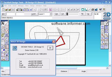 2d designer design tools 2d design v2 software informer screenshots