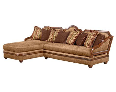 benetti s italia lucianna 2pc sectional sofa btlu178