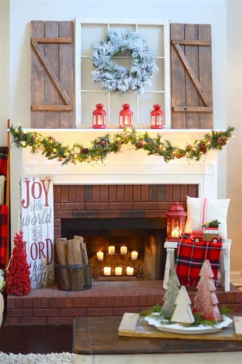lovely diy christmas mantel decor ideas
