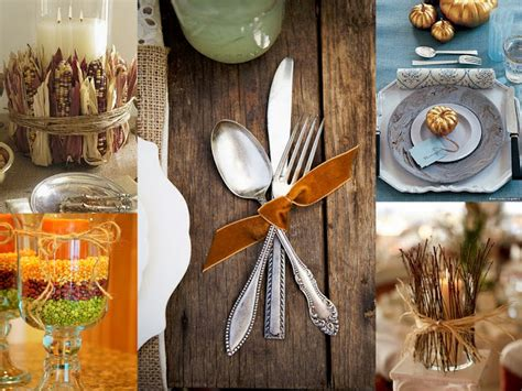 spanglish chic thanksgiving decoration and craft ideas ideas de decoracion y manualidades para