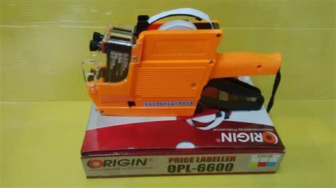 Diskon Kertas Label Price Labeller Joyko Alat Label Harga 2 Baris jual price labeller vt 6600 alat label harga 2 baris
