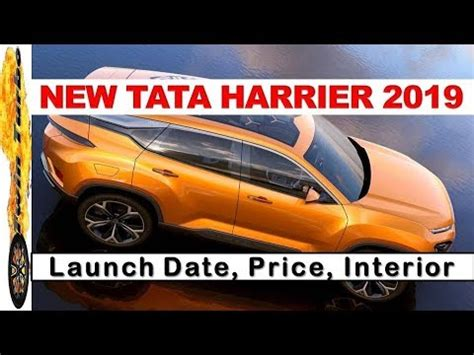 new tata harrier 2019 (h5x), launch date, price | tata h5x
