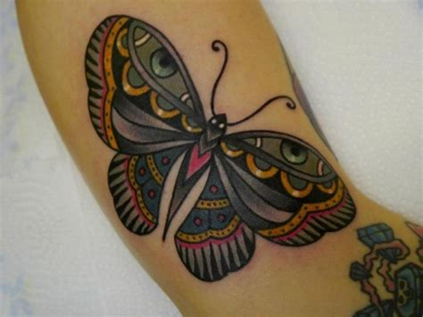 butterfly tattoo traditional pretty traditional butterfly tattoo design idea