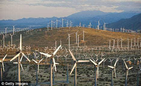 wind farms 'disrupt military radar and inhibit weather