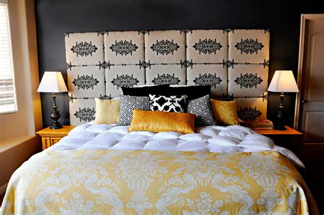 make your own headboard with fabric diy headboard project by brooke made by girl