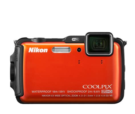 nikon coolpix aw120 compact rugged digital w wifi