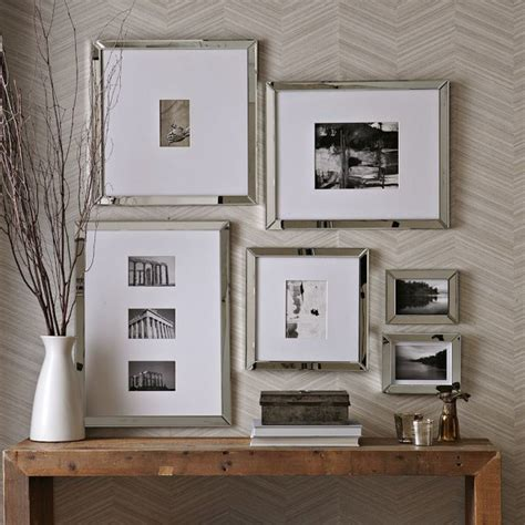 mirrored picture frames mirror gallery frames traditional picture frames by