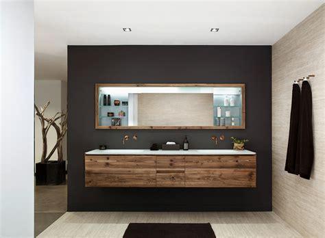 badezimmer waschtisch waschbecken modern holz gispatcher