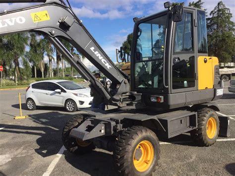 volvo construction equipment dealer volvo ew60c wheeled excavators construction equipment